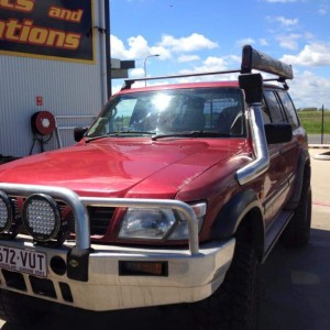 Nissan Patrol Snorkel Brushed Stainless With AIR-RAM Head