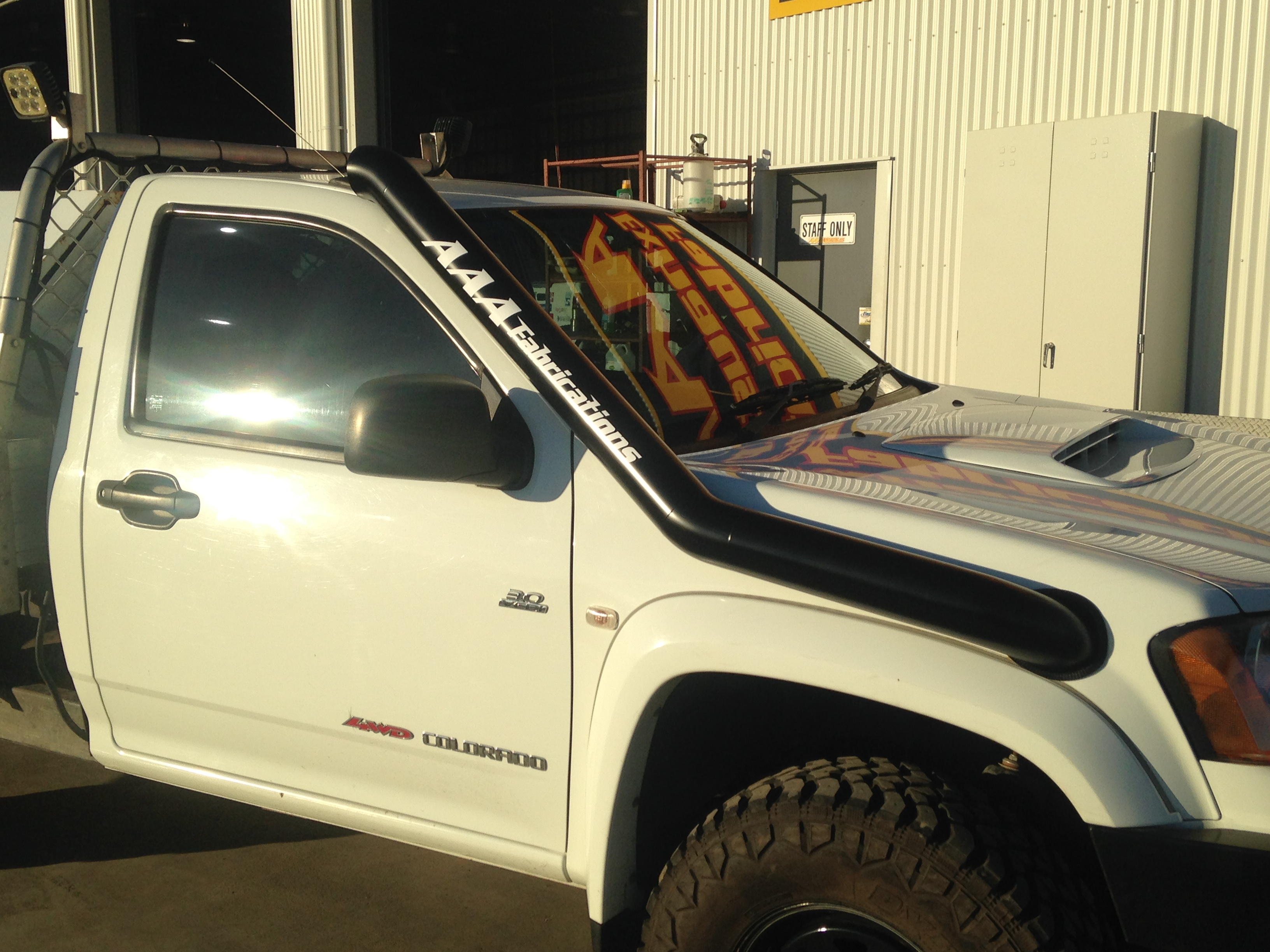 Truck Accessories Store >> Holden Colorado RA-RC Snorkel | AAA Exhaust & Fabrications