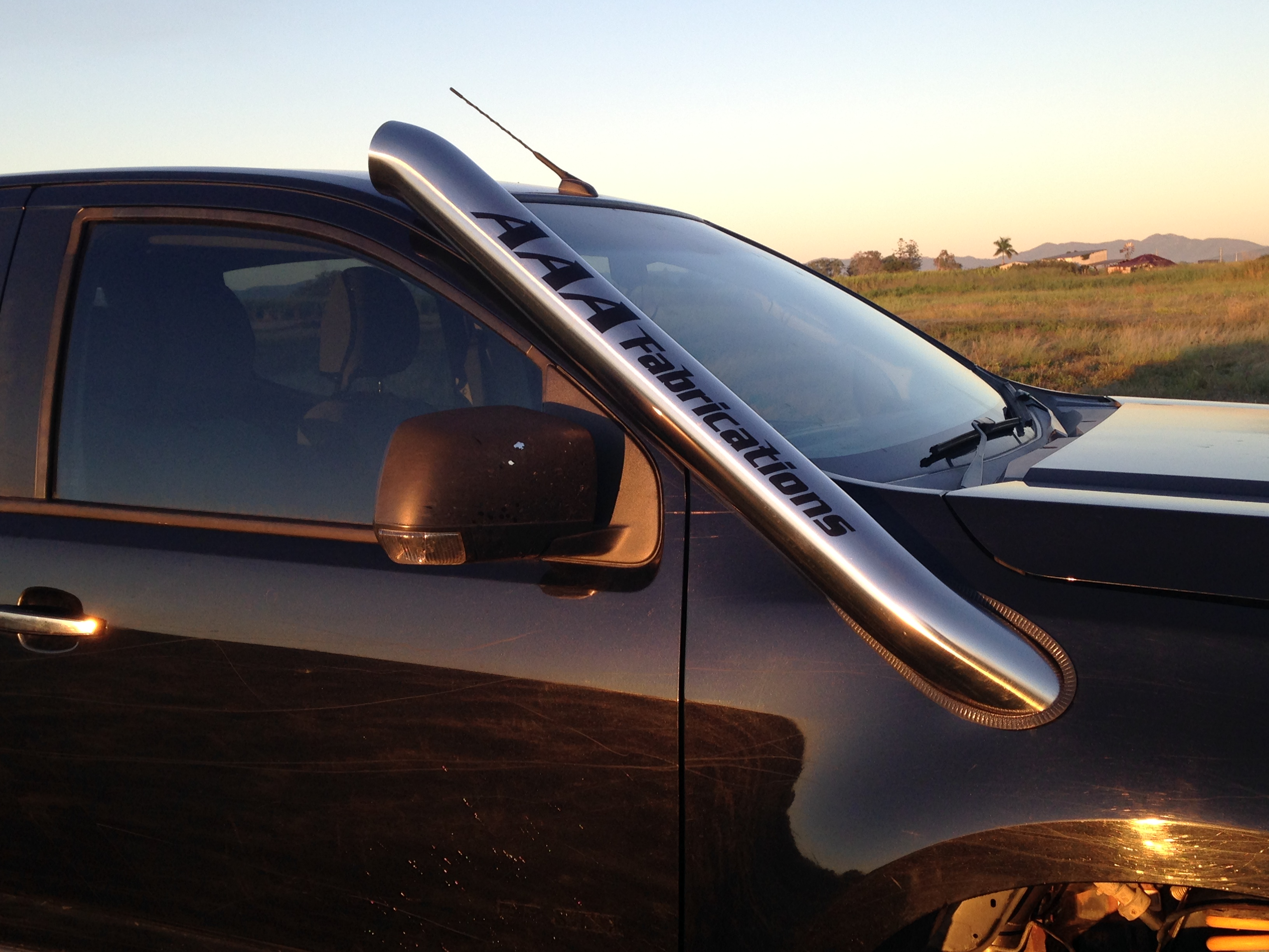 Holden Colorado Rg Snorkel Aaa Exhaust Amp Fabrications